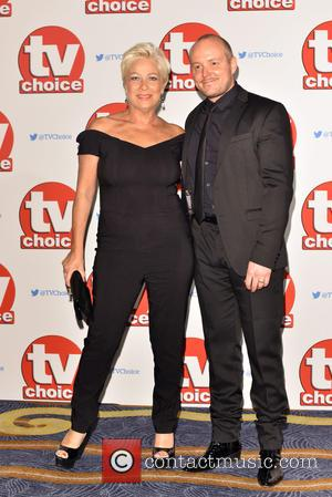 Denise Welch , Guest - The 2015 TV Choice Awards held at the Hilton Park Lane. - London, United Kingdom...