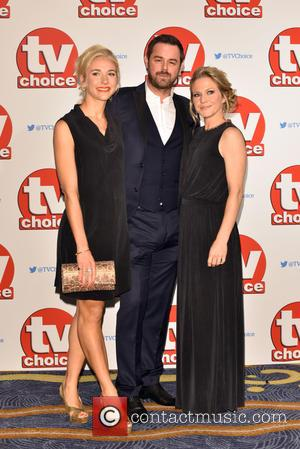 Danny Dyer, Maddy Hill , Kellie Bright - The 2015 TV Choice Awards held at the Hilton Park Lane. -...