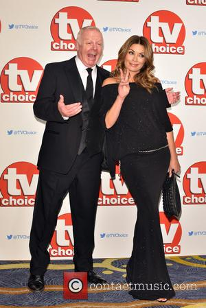 Alison King , Les Dennis - The 2015 TV Choice Awards held at the Hilton Park Lane. - London, United...