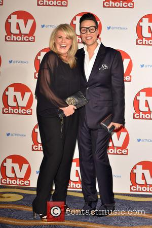 Gok Wan , Sally Lindsay - The 2015 TV Choice Awards held at the Hilton Park Lane. - London, United...
