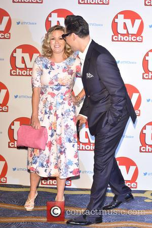 Gok Wan , Jo Joyner - The 2015 TV Choice Awards held at the Hilton Park Lane. - London, United...