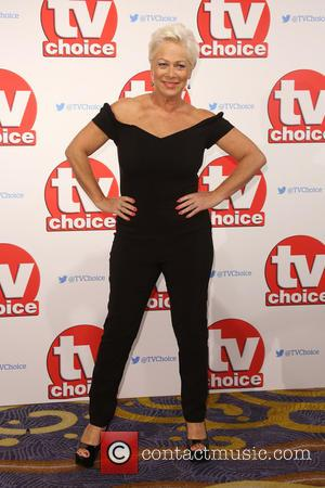 Denise Welch - The 2015 TV Choice Awards held at the Hilton Park Lane - Arrivals - London, United Kingdom...
