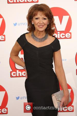 Bonnie Langford - The 2015 TV Choice Awards held at the Hilton Park Lane - Arrivals - London, United Kingdom...