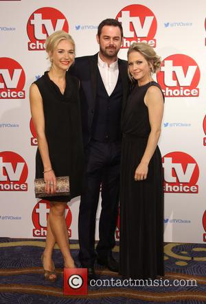 Maddy Hill, Danny Dyer and Kellie Bright