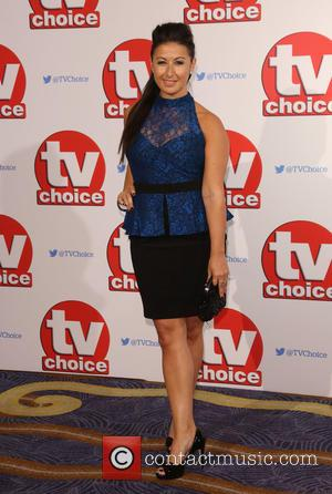 Hayley Tamaddon - The 2015 TV Choice Awards held at the Hilton Park Lane - Arrivals - London, United Kingdom...