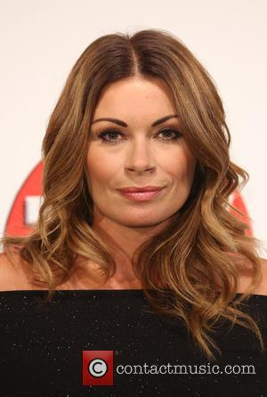 Alison King - The 2015 TV Choice Awards held at the Hilton Park Lane - Arrivals - London, United Kingdom...