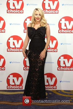 Lydia Bright , Lydia Rose - The 2015 TV Choice Awards held at the Hilton Park Lane. - London, United...