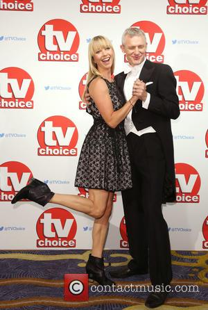 Sara Cox , Jeremy Vine - The 2015 TV Choice Awards held at the Hilton Park Lane. - London, United...