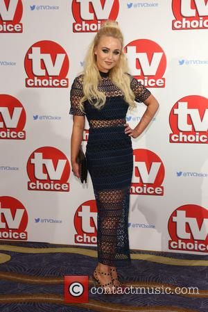 Jorgie Porter - The 2015 TV Choice Awards held at the Hilton Park Lane. - London, United Kingdom - Monday...