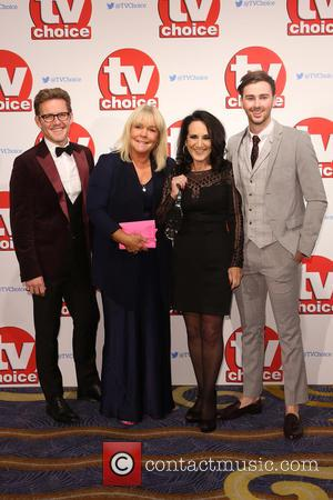 Samuel James, Linda Robson, Lesley Joseph and Charlie Quirke