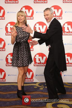 Sara Cox , Jeremy Vine - The 2015 TV Choice Awards held at the Hilton Park Lane - Arrivals -...