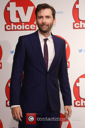 David Tennant - The 2015 TV Choice Awards held at the Hilton Park Lane - Arrivals - London, United Kingdom...