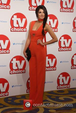 Natalie Anderson - The 2015 TV Choice Awards held at the Hilton Park Lane - Arrivals - London, United Kingdom...