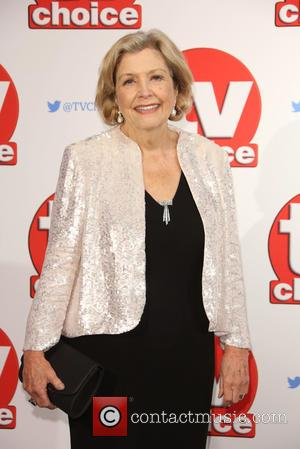 Anne Reid - The 2015 TV Choice Awards held at the Hilton Park Lane - Arrivals - London, United Kingdom...