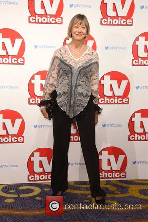 Jenny Agutter - The 2015 TV Choice Awards held at the Hilton Park Lane - Arrivals - London, United Kingdom...