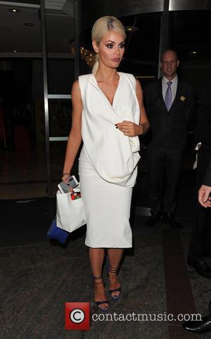 Chloe Sims - The TV Choice Awards held at London Hilton Park Lane - Departures - London, United Kingdom -...