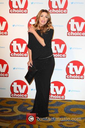 Alison King - The 2015 TV Choice Awards held at the Hilton Park Lane - Arrivals at Hilton, Park Lane...