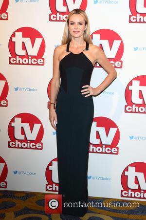 Amanda Holden - The 2015 TV Choice Awards held at the Hilton Park Lane - Arrivals at Hilton, Park Lane...