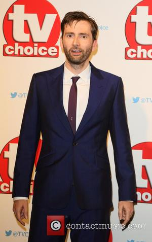 David Tennant - The 2015 TV Choice Awards held at the Hilton Park Lane - Arrivals at Hilton, Park Lane...
