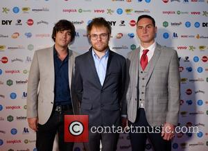 Enter Shikari - AIM Independent Music Awards 2015 - Arrivals - London, United Kingdom - Tuesday 8th September 2015