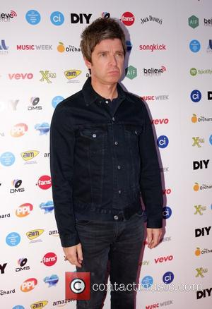 Noel Gallagher - AIM Independent Music Awards 2015 - Arrivals - London, United Kingdom - Tuesday 8th September 2015