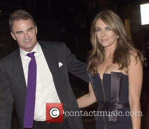 Elizabeth Hurley - Amanda Wakeley private dinner with Vogue - LONDON, United Kingdom - Tuesday 8th September 2015
