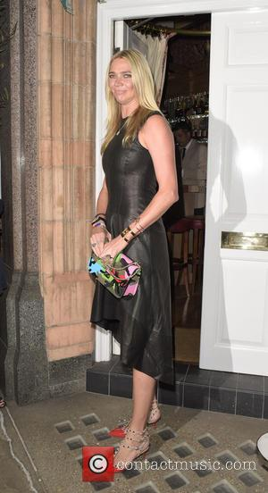 Jodie Kidd - Amanda Wakeley private dinner with Vogue - LONDON, United Kingdom - Tuesday 8th September 2015
