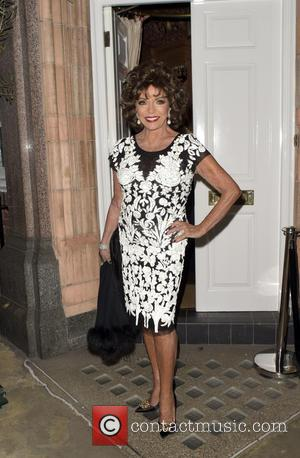 Joan Collins - Amanda Wakeley private dinner with Vogue - LONDON, United Kingdom - Tuesday 8th September 2015