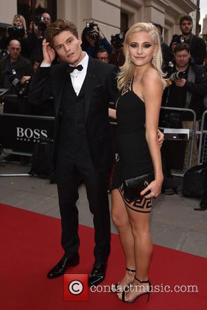 Pixie Lott , Oliver Cheshire - GQ Men of the Year Awards held at the Royal Opera House - Arrivals....