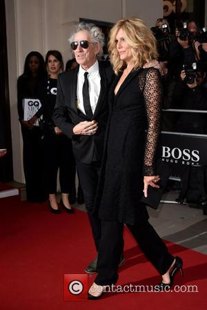 Keith Richards , Patti Hansen - GQ Men of the Year Awards held at the Royal Opera House - Arrivals....