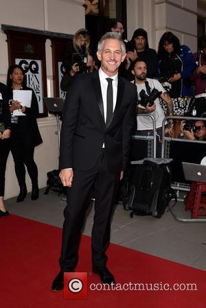 Gary Lineker - GQ Men of the Year Awards held at the Royal Opera House - Arrivals. - London, United...
