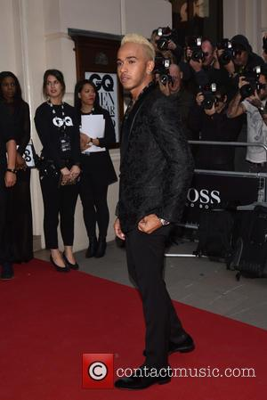 Lewis Hamilton - GQ Men of the Year Awards held at the Royal Opera House - Arrivals. - London, United...