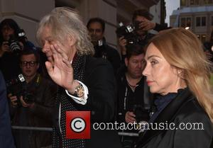 Bob Geldof , Jeanne Marine - GQ Men of the Year Awards held at the Royal Opera House - Arrivals....