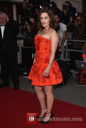 Emilia Clarke - GQ Men of the Year Awards held at the Royal Opera House - Arrivals. - London, United...