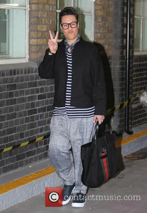 Gok Wan - Gok Wan outside ITV Studios today - London, United Kingdom - Tuesday 8th September 2015