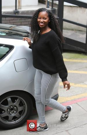 Jamelia - Jamelia outside ITV Studios today - London, United Kingdom - Tuesday 8th September 2015