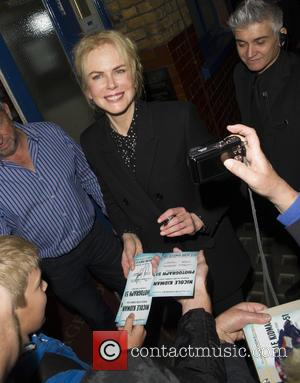 Nicole Kidman - Nicole Kidman leaving her theatre after a performance - London, United Kingdom - Tuesday 8th September 2015