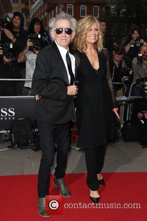 Keith Richards , Patti Hansen - GQ Men of the Year Awards 2015 at the Royal Opera House - Arrivals...