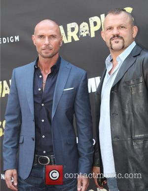 Luke Goss and Chuck Liddell