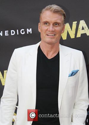 Dolph Lundgren - Premiere of Cinedigm's 'War Pigs' at ArcLight Cinemas - Arrivals at ArcLight Cinemas - Los Angeles, California,...
