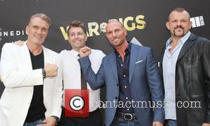 Dolph Lundgren, Luke Goss , Chuck Liddell - Premiere of Cinedigm's 'War Pigs' at ArcLight Cinemas - Arrivals at ArcLight...