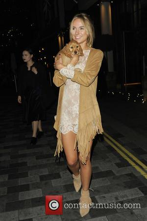 Kimberley Garner - Celebrities at Ham Yard Hotel - London, United Kingdom - Tuesday 8th September 2015