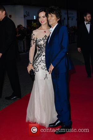 Ronnie Wood , Sally Humphreys - GQ Men of the Year Awards 2015 at the Royal Opera House - Arrivals...