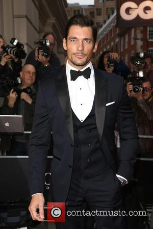 David Gandy - GQ Men of the Year Awards 2015 at the Royal Opera House - Arrivals - London, United...