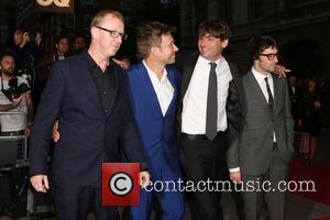 Blur, Damon Albarn, Graham Coxon, Alex James and Dave Rowntree