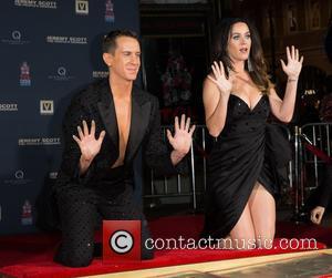 Jeremy Scott and Katy Perry