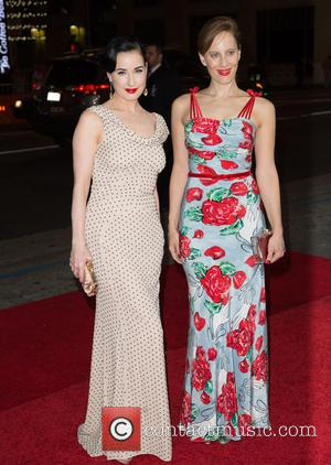Dita Von Teese , Liz Goldwyn - Celebrities attend premiere of The Vladar Company's