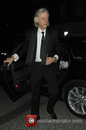 Bob Geldof - Celebrities at party aftershow for GQ Awards - London, United Kingdom - Tuesday 8th September 2015