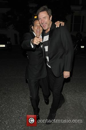 Simon Le Bon - Celebrities at party aftershow for GQ Awards - London, United Kingdom - Tuesday 8th September 2015