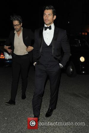 David Gandy - Celebrities at party aftershow for GQ Awards - London, United Kingdom - Tuesday 8th September 2015